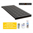BLACK BOOSTER - Cellules SUNPOWER - 140 W